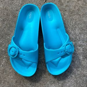 Pretty blue sandals